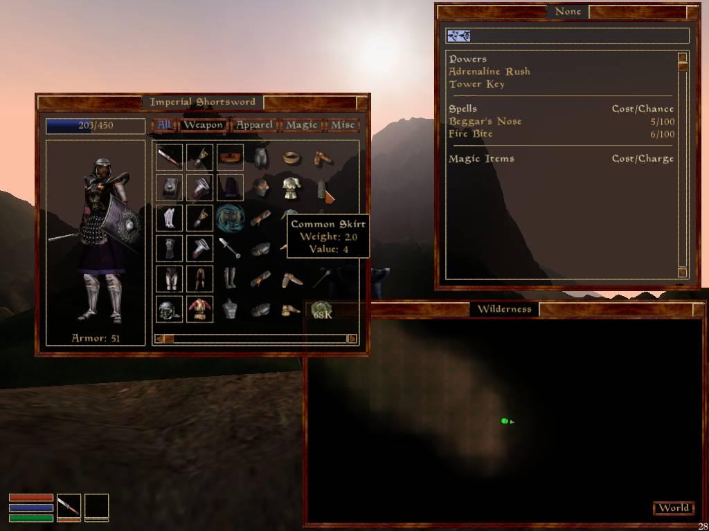 RELZ] UC: Interface : III - Morrowind